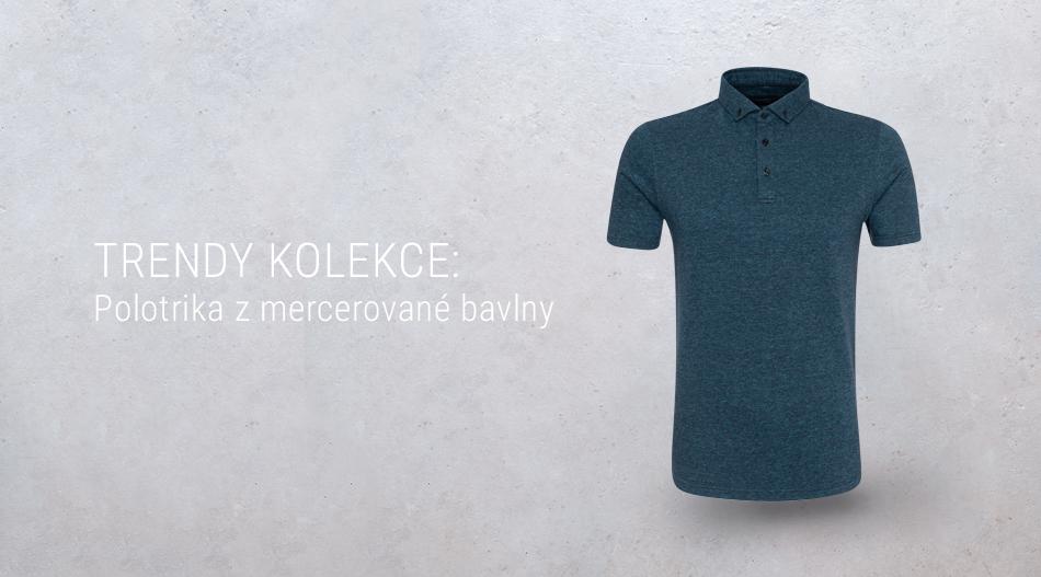 Trendy kolekce - Polotrika z mercerované bavlny