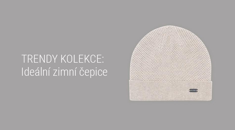 Trendy kolekce - Ideální zimní čepice