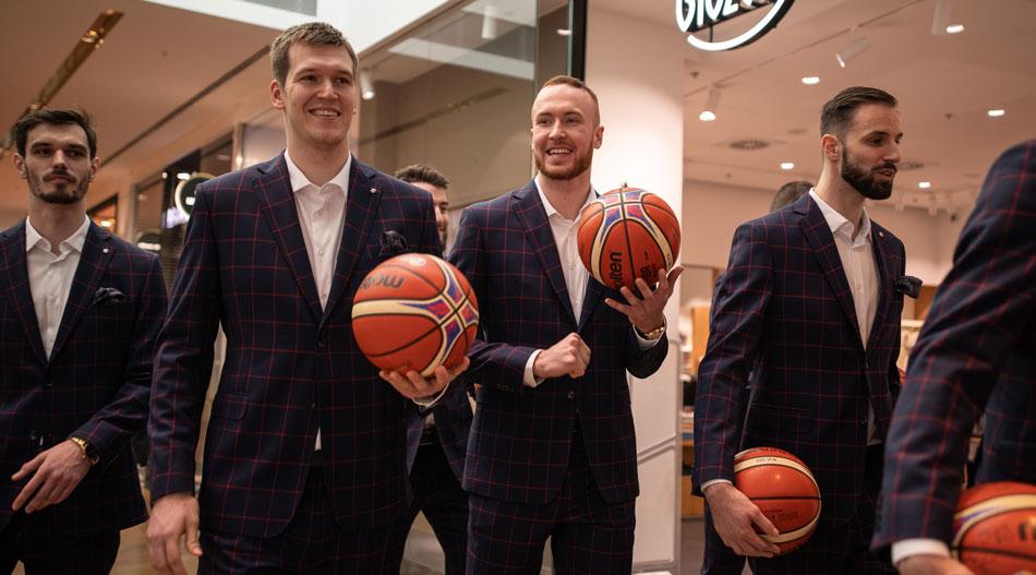 Blažek partnerem české basketbalové reprezentace