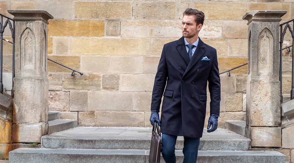 Co nosit s dvouřadým pláštěm?