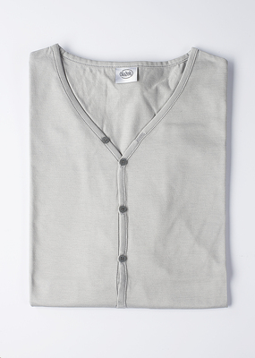 Pánské tričko city , barva šedá