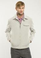 Pánská bunda  regular, barva šedá