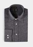 Pánská košile city regular, barva šedá