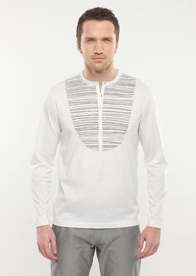 Pánské tričko city , barva bílá