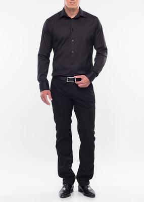Pánské kalhoty city regular, barva černá