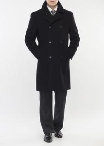 Páský plášť formal regular, barva černá