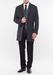 Pánský plášť formal slim, barva šedá