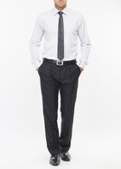 Pánská košile formal regular, barva bílá