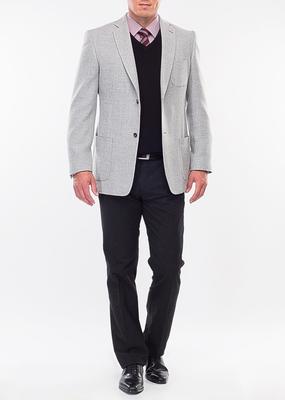 Pánské sako city regular, barva šedá