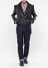 Pánská kožená bunda formal regular, barva černá