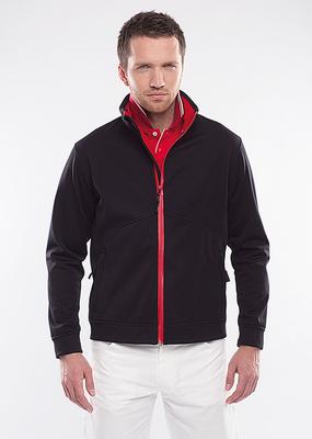 Pánská bunda golf , barva černá