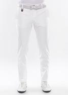 Pánské kalhoty  golf slim, barva bílá