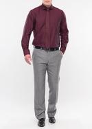 Pánské kalhoty city regular, barva šedá