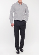 Pánské kalhoty formal comfort, barva šedá