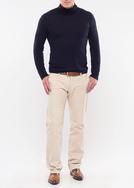 Pánské kalhoty city regular, barva béžová