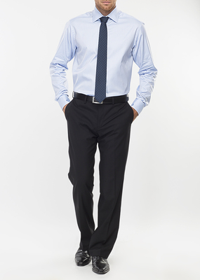 Pánská košile formal regular, barva modrá