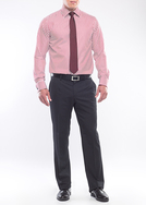 Pánská košile formal regular, barva červená
