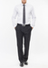Pánské kalhoty formal regular, barva černá