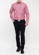 Pánské kalhoty formal slim, barva modrá