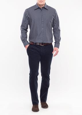 Pánské kalhoty city regular, barva modrá
