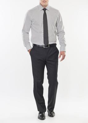 Pánské kalhoty formal regular, barva šedá
