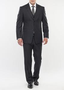 Pánský oblek formal regular, barva šedá