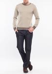 Pánský svetr city regular, barva béžová
