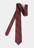 Pánská kravata formal , barva červená