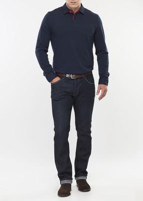 Pánské tričko jeans , barva modrá