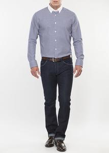 Pánská košile formal slim, barva modrá