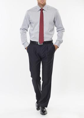 Pánská košile formal regular, barva šedá