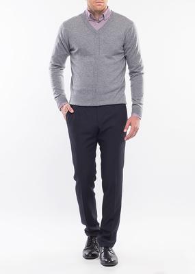 Pánský svetr city regular, barva šedá