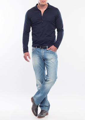 Pánské tričko city , barva modrá