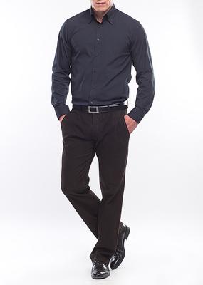 Pánská košile city regular, barva modrá