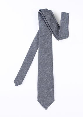 Pánská kravata formal , barva šedá