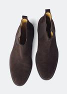 Pánská obuv city , barva hnědá