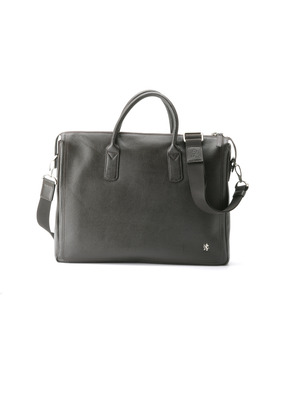 Pánská kožená taška informal , barva hnědá