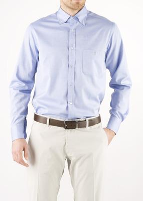 Pánská košile  regular, barva modrá