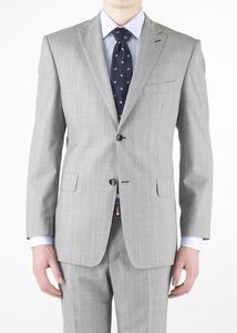 Oblekové sako formal regular, barva šedá