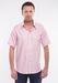 Pánská košile city regular, barva růžová