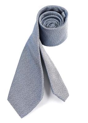 Hedvábná kravata formal regular, barva modrá
