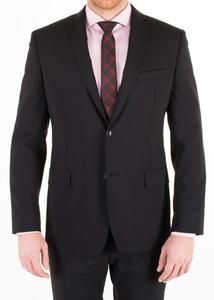 Oblekové sako formal slim, barva černá