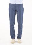 Pánské kalhoty   slim, barva modrá