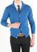 Pánský svetr informal regular, barva modrá