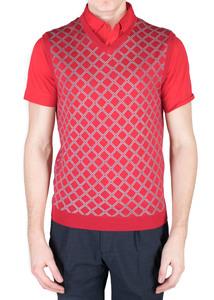 Pánský svetr sport regular, barva červená
