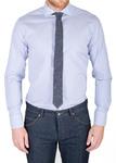 Pánská košile informal slim, barva modrá