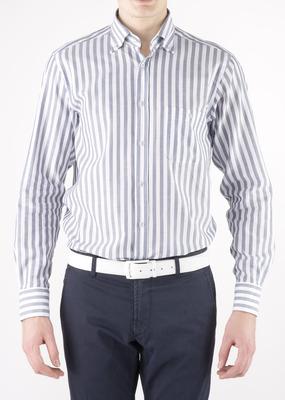 Pánská košile  regular, barva šedá