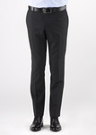 Oblekové kalhoty  formal slim, barva černá