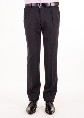 Oblekové kalhoty  formal regular, barva modrá