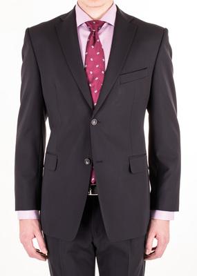 Oblekové sako formal regular, barva modrá